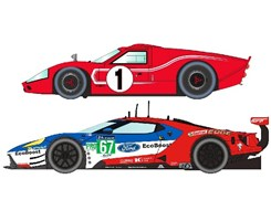50 Years of Le Mans Ford GT MKII and GTE-Lmtd
