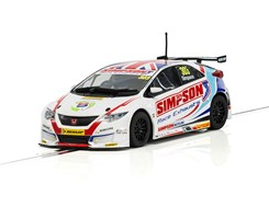 BTCC Honda Civic Type R NGTC 2017 - Matt Simpson