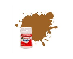 Acrylic maling Copper 18,2ml - metallic