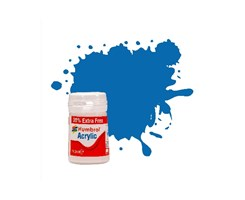 Acrylic maling baltic blue 18,2ml - metallic