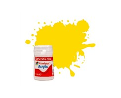 Acrylic maling Yellow 18,2ml - gloss