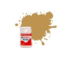 Acrylic maling Desert Yellow 18,2ml - matt