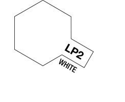Tamiya Lacquer Paint LP-2 White