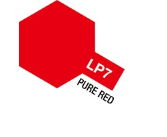 Tamiya Lacquer Paint LP-7 Pure Red