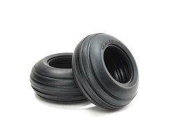 Ribbed Front Bubble Tires (Soft/2pcs.)